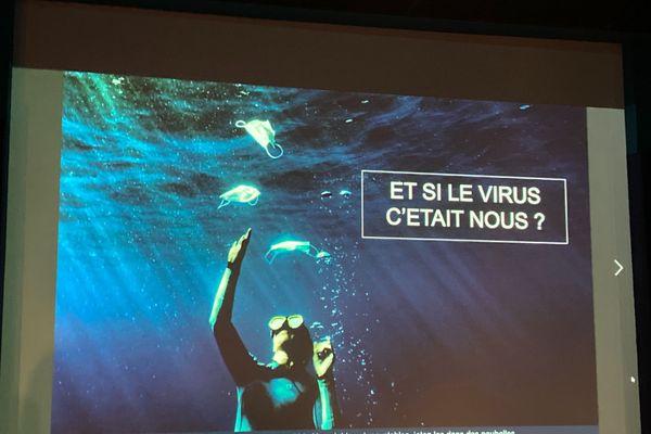 Campagne de sensibilisation d'Eva Langlois et Charlotte Boiron