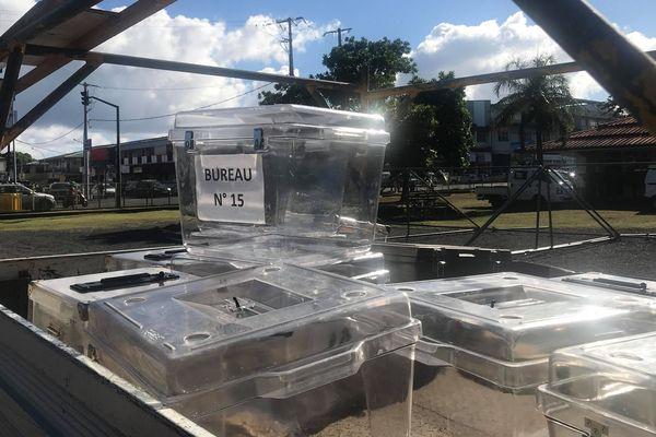 Installation bureaux de vote Papeete