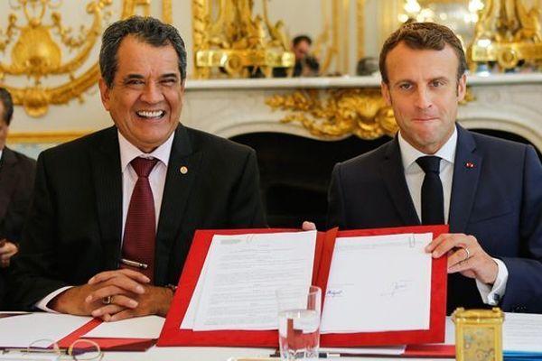 Fritch et Macron