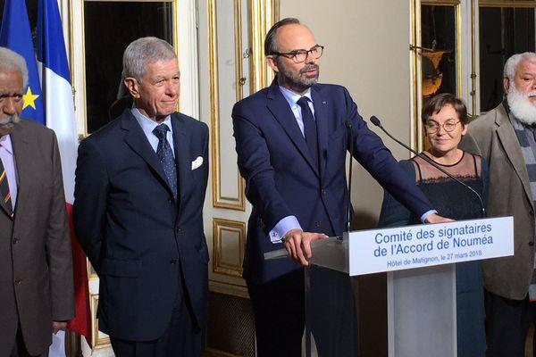 Edouard Philippe conclut le XVII comité des signataires