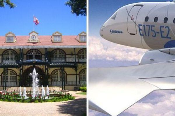 1er vols d'islands airlines en octobre 2019