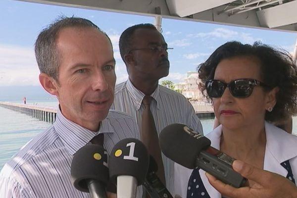 Personnalités Guadeloupe Port Caraïbes