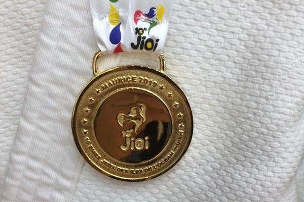 JIOI 2019 Judo médaille d'or de Naomi Raharison J1 220719
