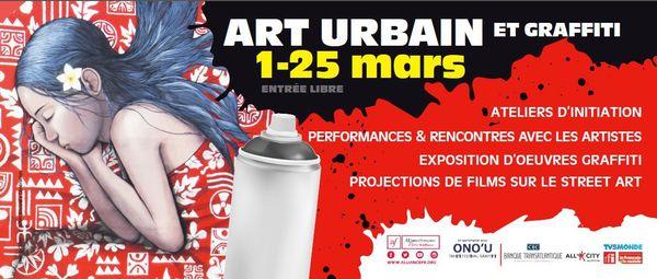 Expo Festival ONO'U art urbain à Paris à l'Alliance Française