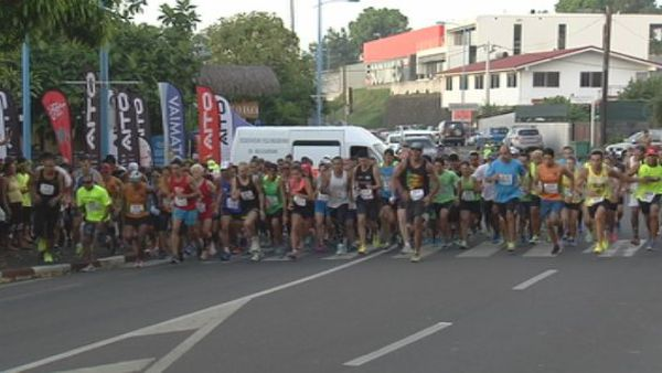 Départ Fun Run 2016