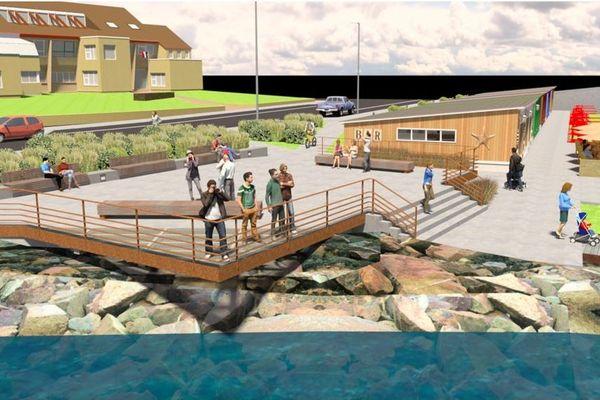 Vers de nouveaux aménagements du front de mer de Saint-Pierre