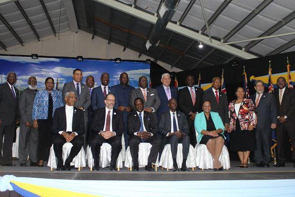 Cérémonie ouverture Sommet du CARICOM