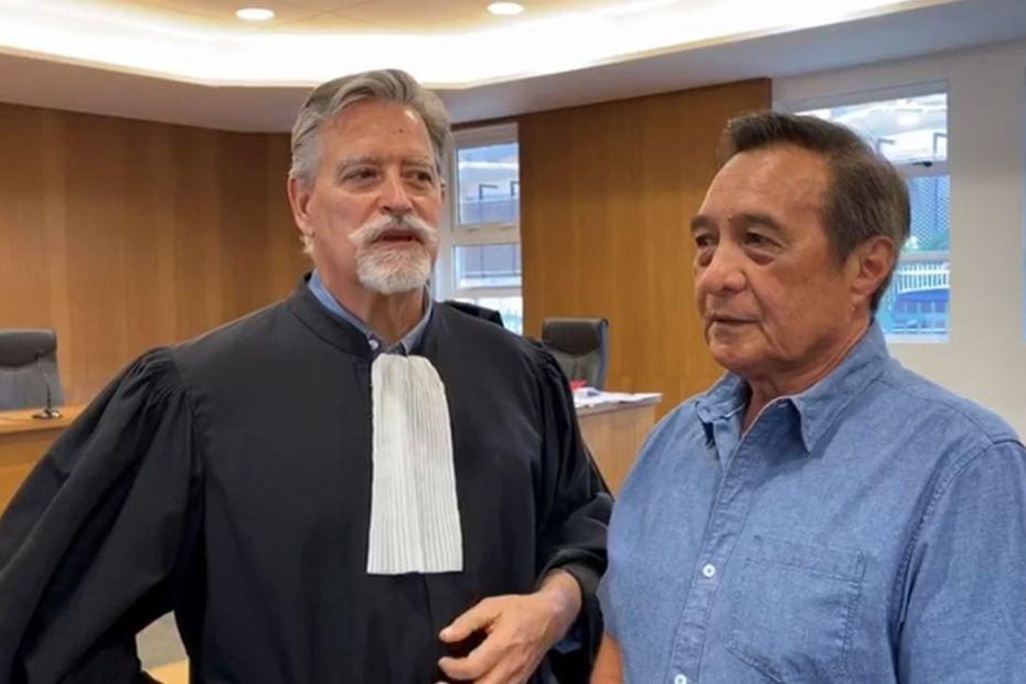 Au tribunal, Michel Buillard sommé de prouver qu'il est bien résident de Papeete - Polynésie la 1ère