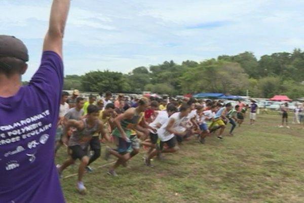 26è édition du Championnant de Cross de Polynésie à Pirae