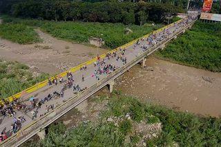Départ massif d'habitants du Venezuela
