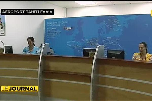 L'aéroport de Tahiti Faa'a un weekend de 15 août