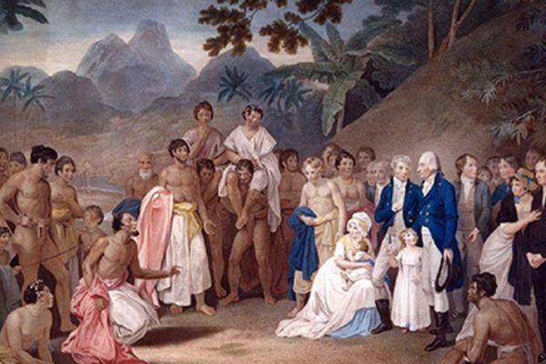 Arrivée de l'évangile à Tahiti