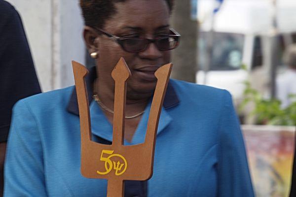 Chaîne  humaine Barbade