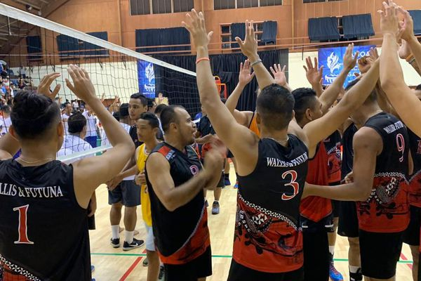 l'équipe de volley-ball de Wallis et Futuna