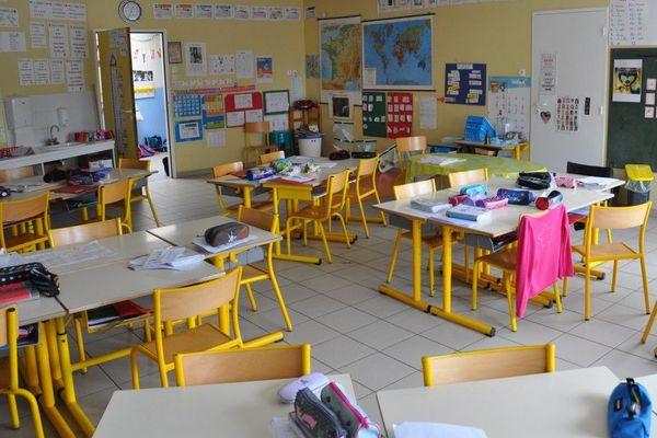 Salle de classes maternelles