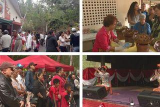 Mosaïque journée récréative indonésienne