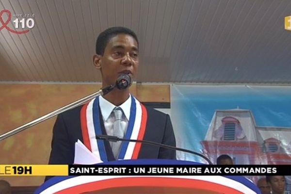 Fred Michel Tirault maire St Esprit