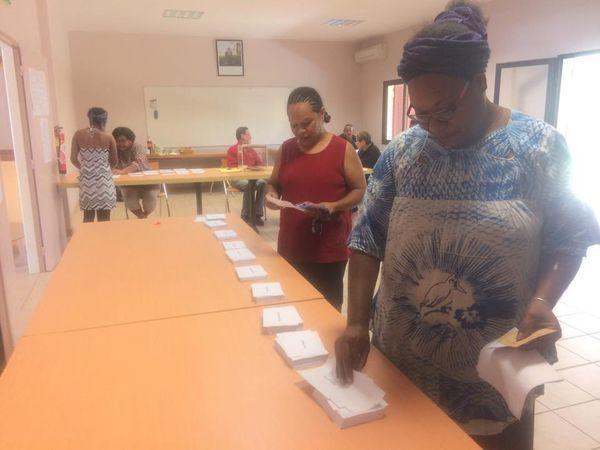 Election. Bureau de vote