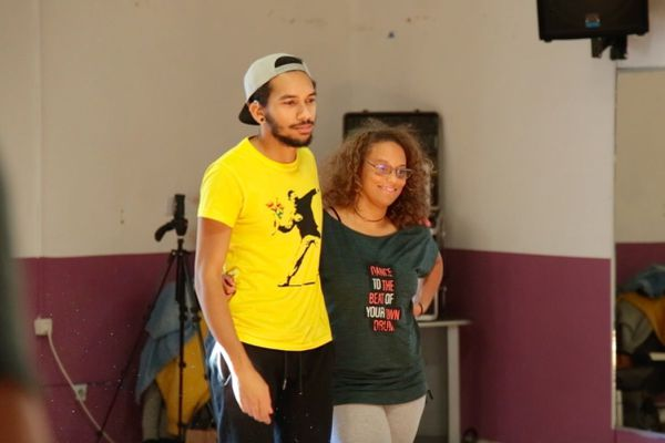 cours de danse lsf participants