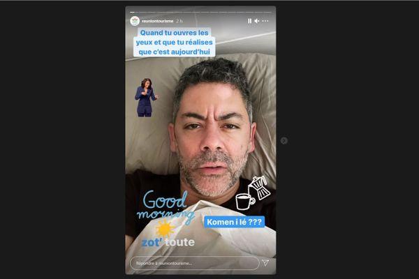 Manu Payet et l'Instagram IRT