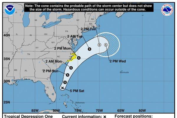 1er phénomène cyclonique 2020