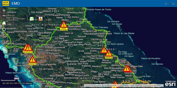 Cyclone UESI circulation 11 février 2