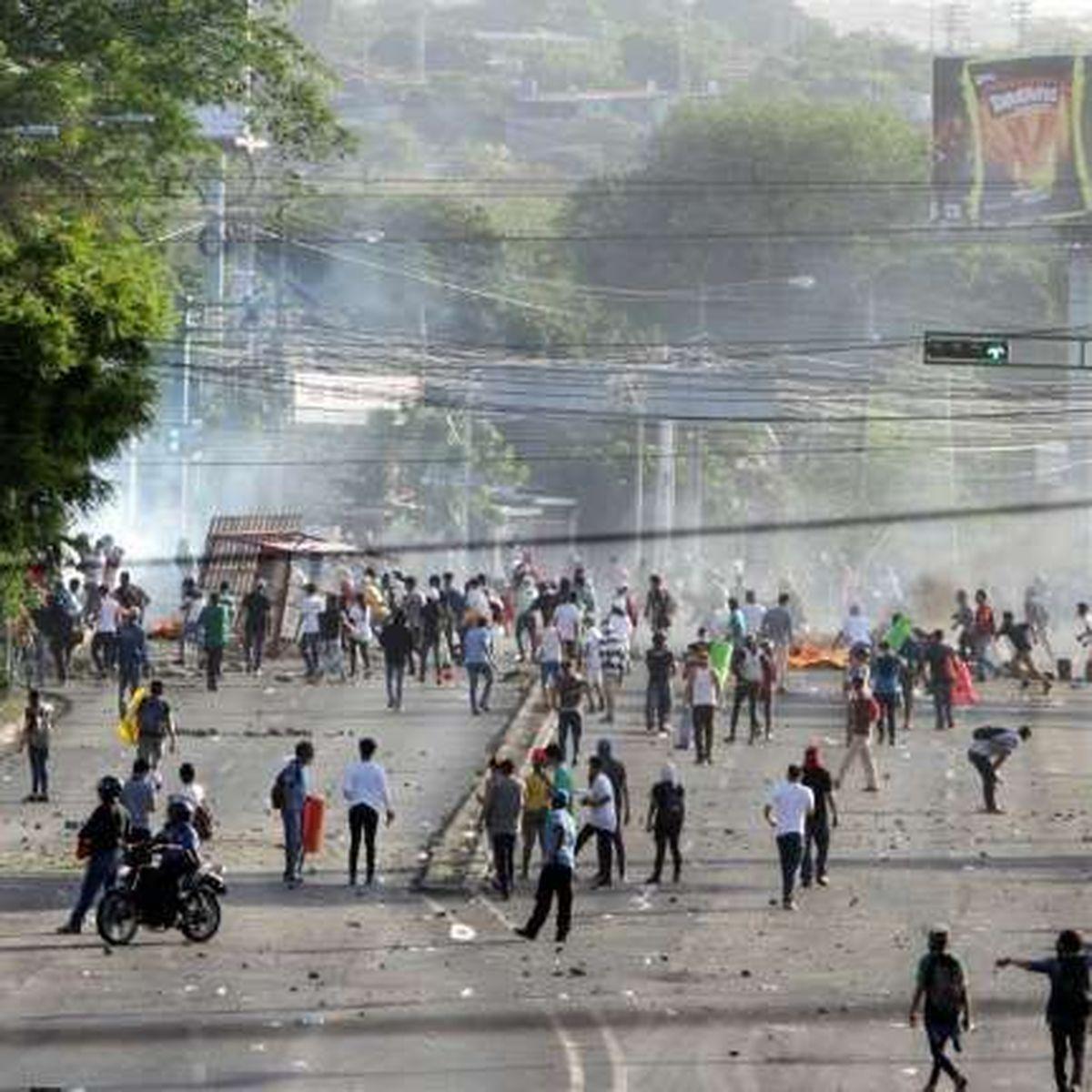 Nicaragua : 25 morts après cinq jours de manifestations