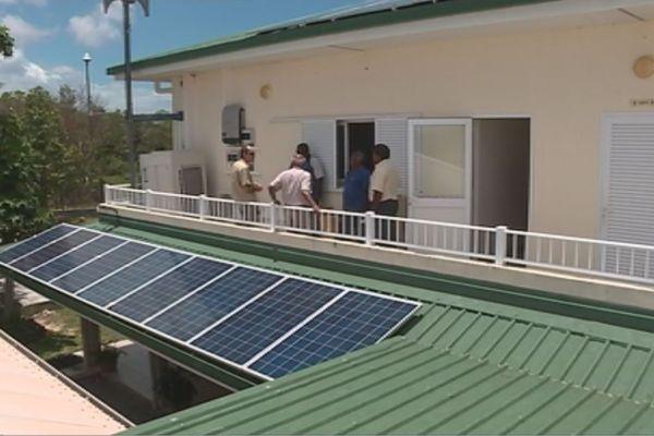 Ouvéa choisie l'énergie solaire