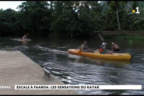 A la découverte de la Faaroa en Kayak