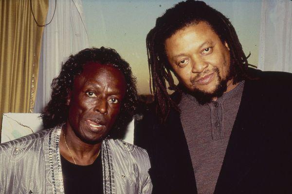 Miles Davis et Quincy Troupe