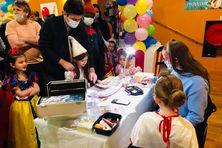 Près de 200 enfants ont répondu présents pour l'après-midi récréatif à la salle des fêtes