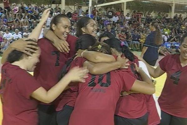 Femmes Oputahi Tahaa - Volley ball