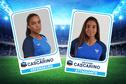 Football : les jumelles Cascarino ensemble pour la 1ère fois en bleu !