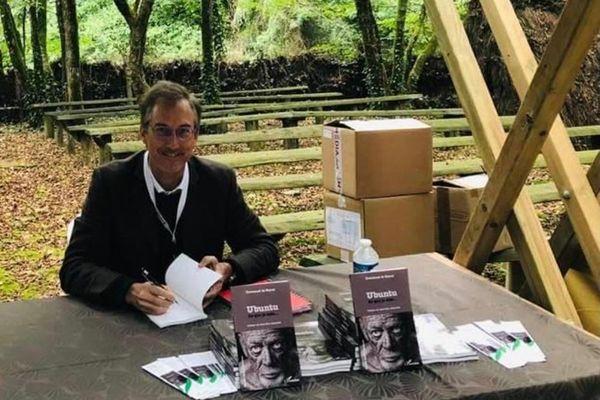 Emmanuel de Reynal, au salon du livre de la Vendée