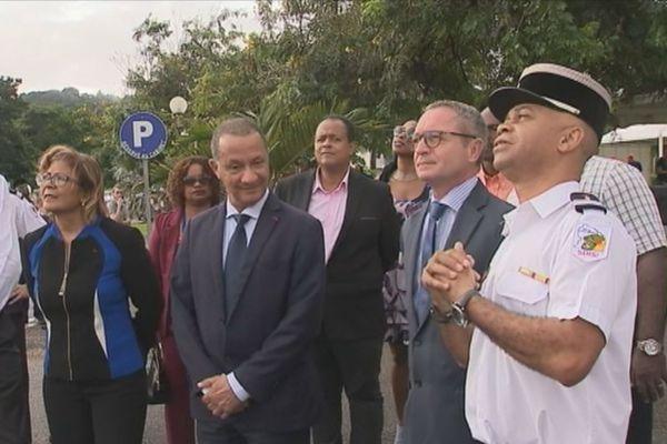 Le Colonel des sapeurs pompiers, Félix Anténor Habazac quitte la Guyane
