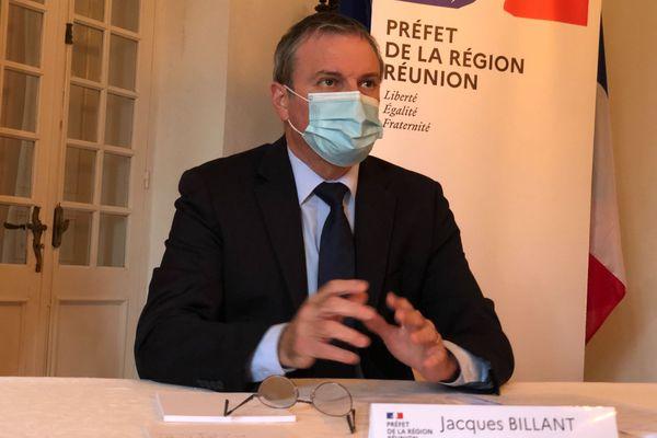 Jacques Billant, le Préfet lors du point presse prefecture 11 septembre