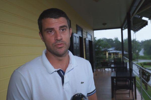 Julien Bader, le gérant du Lodge Balourou