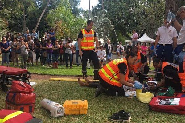 Journée mondiale des premiers secours à Saint-Paul 080918