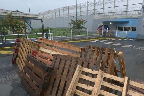 Grève à la prison de Baie-Mahault