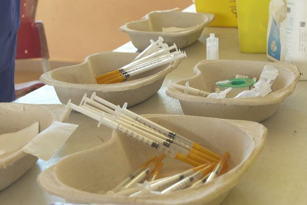 Vaccination à Awala-Yalimapo