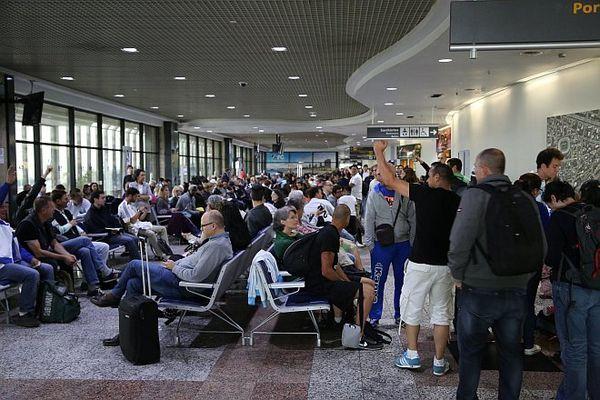 Attente aéroport Porto Alegre
