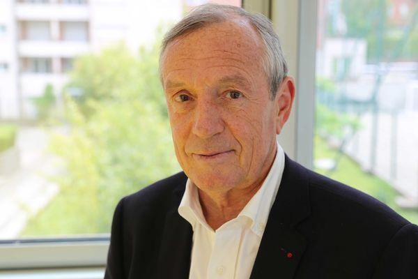 Francis Vallat, président de l'association Expédition 7e continent