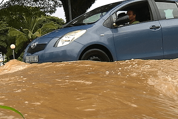inondations à dumbéa