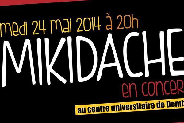 Mikidache en concert à Dembeni
