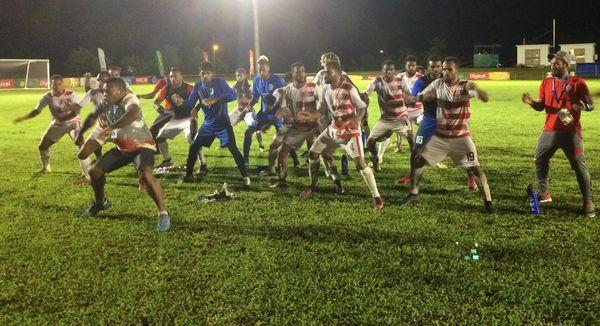 Samoa 2019, victoire des footballeurs de Calédonie contre tahiti