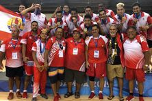Les Tahitiens n'avaient plus décroché l'or en volley depuis 2007.