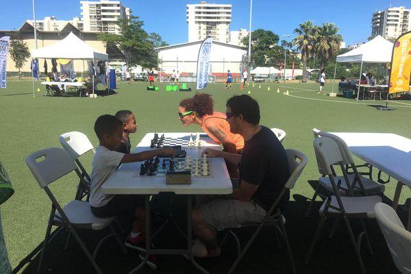 Faites du sport 2021, à Nouméa, Magenta, échecs