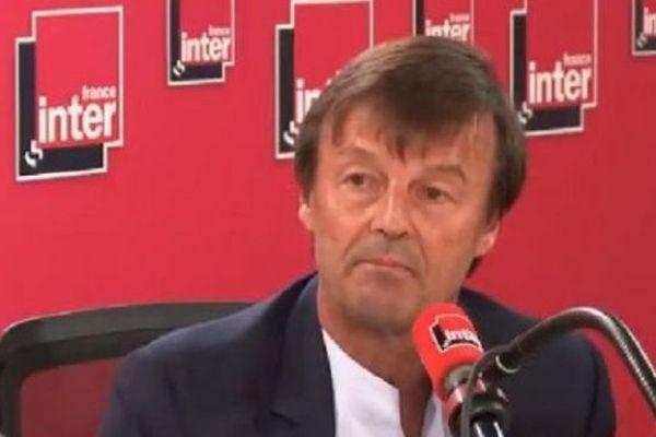 Nicolas Hulot démission