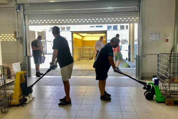 Les bénévoles de la BANC