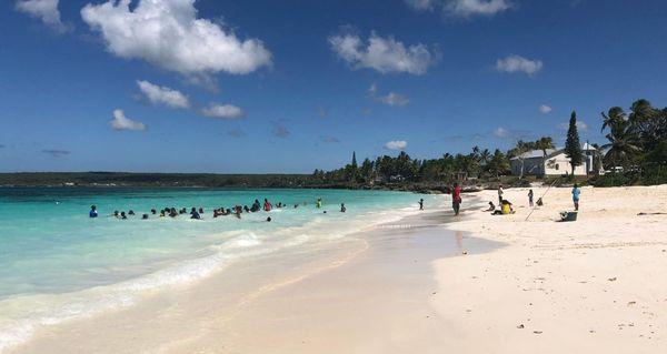 L'île aux loisirs, Lifou, Qanono, janvier 2019